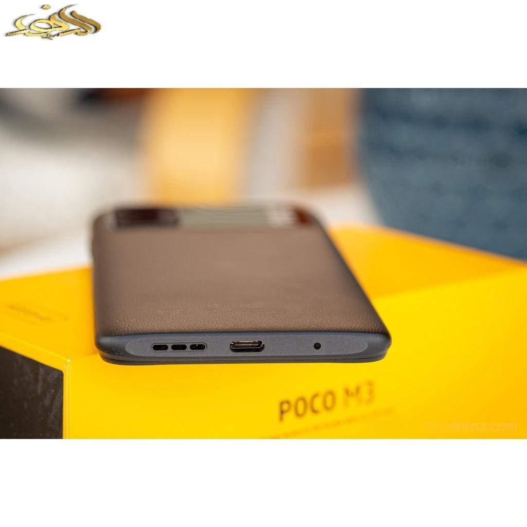 گوشی موبایل شیائومی مدل POCO M3 M2010J19CG دو سیم کارت ظرفیت 128 گیگابایت و رم 4 گیگابایت
