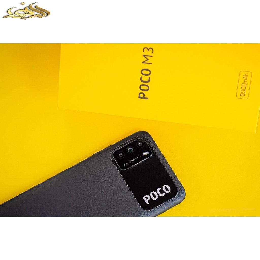 گوشی موبایل شیائومی مدل POCO M3 M2010J19CG دو سیم کارت ظرفیت 64 گیگابایت و رم 4 گیگابایت